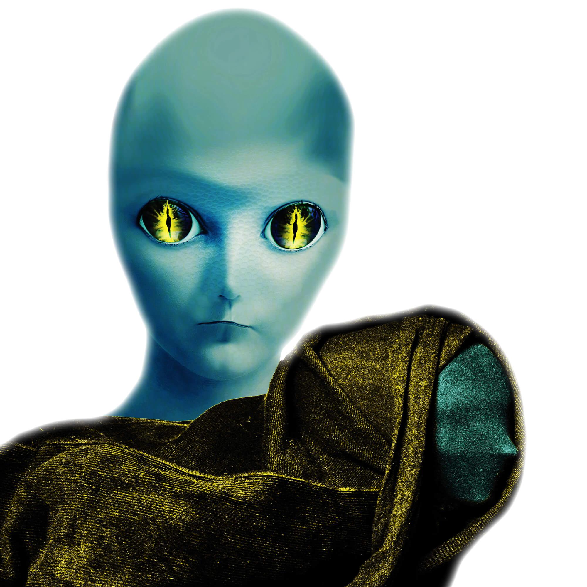 Gothic Zen™ Studios Alien with child Goran Zivanovic