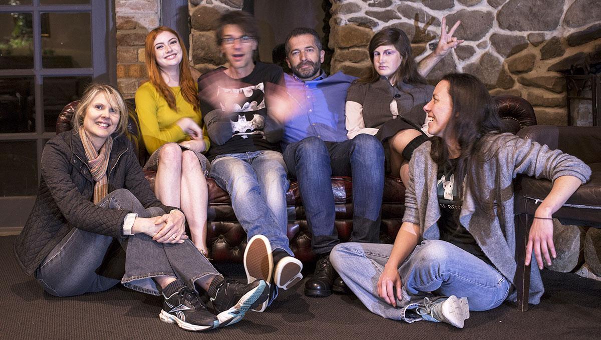 Gothic Zen™ Studios with actors and crew